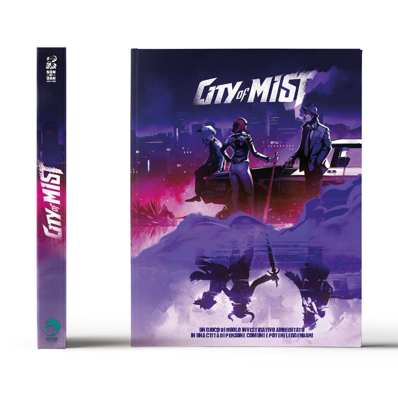 City of Mist Gdr Noir Investigativo