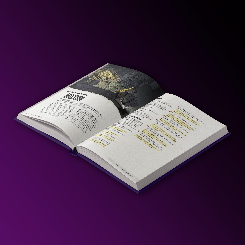 City of Mist Gdr Noir Mythos Edition Interni