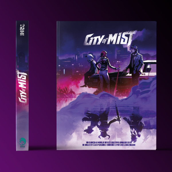 City of Mist Mythos Edition Gdr Noir