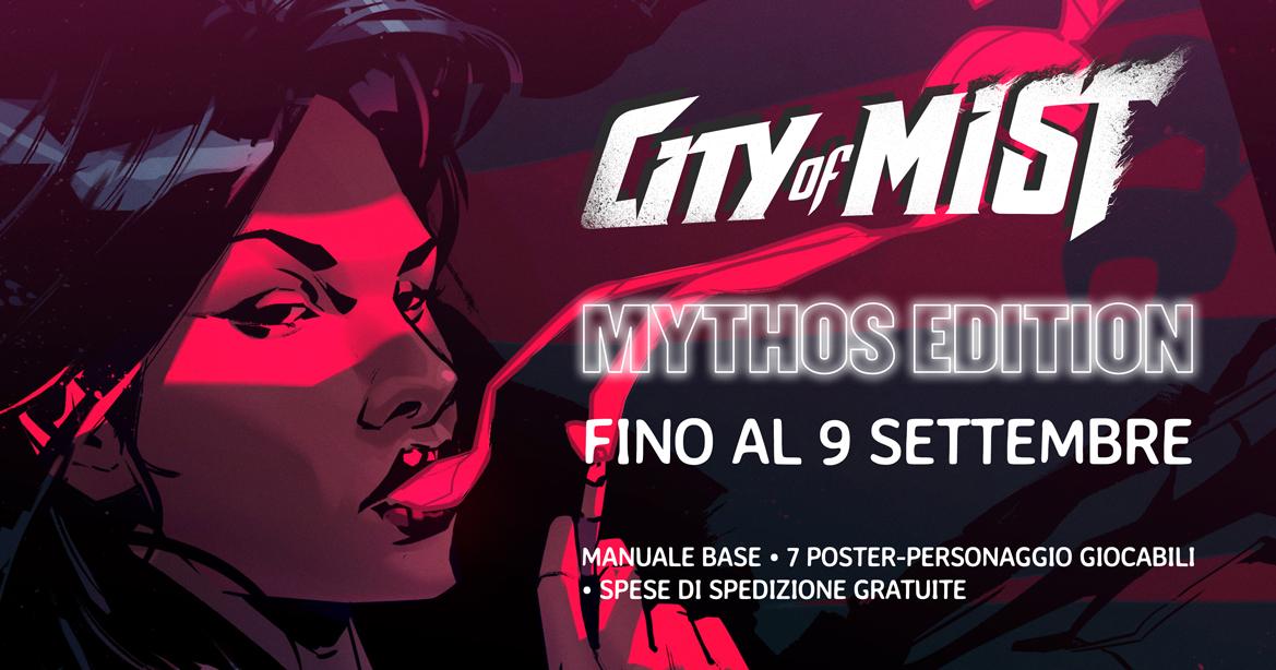 Acquista-City-Of-Mist-Mythos-Edition-Bundle